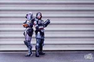 Stand tall - ME3 cosplays by Lily-pily