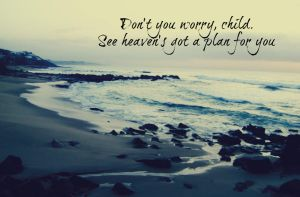 Don't You Worry Child by pie08