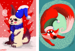 Christmas cards 2014 by hummeri9