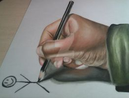 Anamorphic Hand by AMystery1994