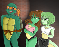 wow TMNT fanart? suck much? by leeladebris