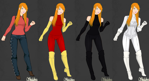 Lian Harper outfit variations by vaf50ym