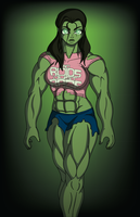 She-Hulk SMASH!? by DrasticAction