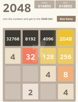 Insanity (2048 World Record) by AshesAndEmbers