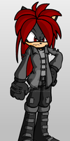 Blood the Hedgehog by TheHellHunter