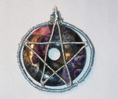 Pentacle pendant by Nimily