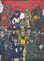 Flash's Rogues Gallery by GoroKai