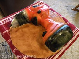 Cordless Drill cake by cake-engineering