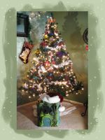Our Eternian Christmas Tree by martiowlsten