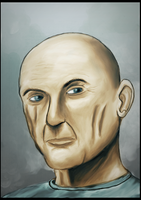 Digital painting - John Locke by doeufman
