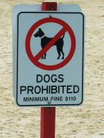 Dogs Prohibited by ARTmonkey90