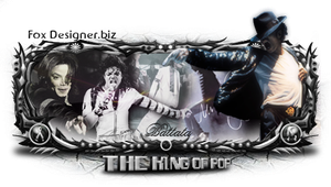 The king of Pop by lBattata