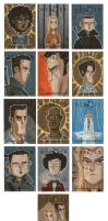 Heroes Sketch Cards 4 by OtisFrampton