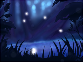 Magic forest by x-Lilou-chan-x