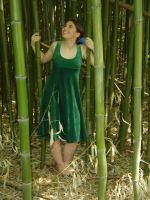 In the Bamboo Grove 1 by Sitara-LeotaStock