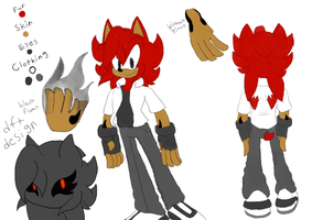 Toshi the Hedgehog Ref by Speedy323