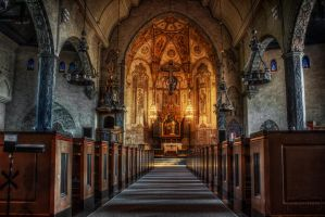 The Church Of Burea by SL-PhotographySWE