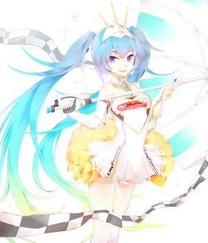 Racing Miku 2015 by husk57