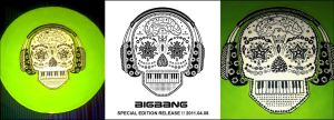 Hand Painted BIGBANG Plate by xTHExFUNNNX