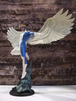 Angel Comiquette Statue 1 by Minas-Tirith-Hakan