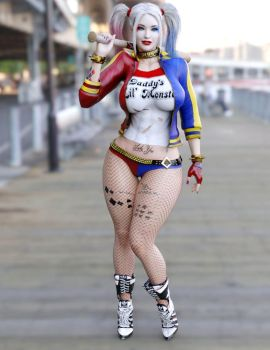 Suicide Squad Harley Quinn G2F by guhzcoituz