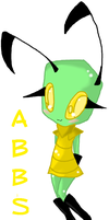 Abbs by InvaderAbbey