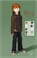 Ref Sheet: Riley by nooby-banana