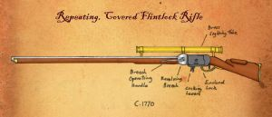 Repeating Flintlock Rifle by SimonLMoore