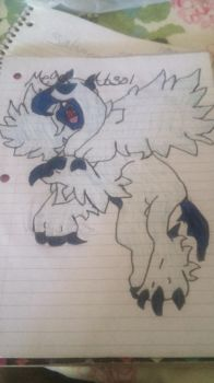 Mega Absol by Horselover2471226