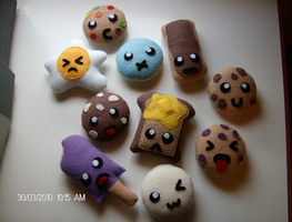 Food Plushies by X36