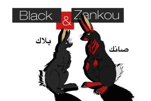 Black and Zankou by Leo-rah