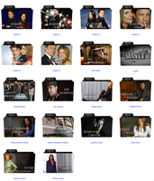 Castle Folders Icons by CCSerena89