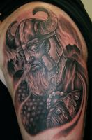 Viking Tattoo by jesserix