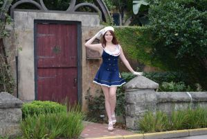 Sailor Girl Stock 7 by MelHeflin