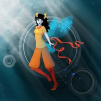 Vriska - Homestuck fan art by GingerSnake