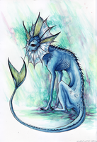 Vaporeon by Chilkat
