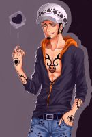 Trafalgar Law by Arin-ya