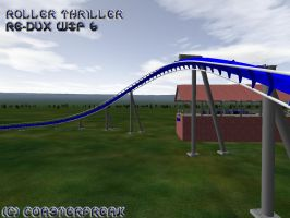 Roller Thirller Re-Dux WIP 6 by Coasterfreak