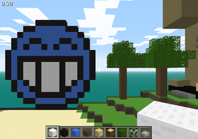 Minecraft emoticon by Barakaldo