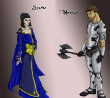 Sylvia and Nather by SonofReorx