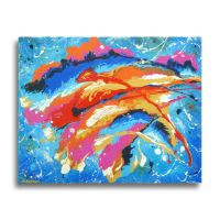 Abstract Original Painting by hjmart