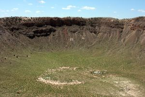 Meteor Crater by cheslah