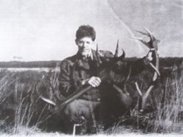 Antlers in 1997 by woodcarve