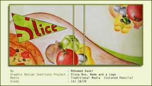Traditional Made Pizza Label by MohamadKaaki