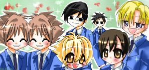 ::Ouran Host Club-Welcome:: by WorldlyStar