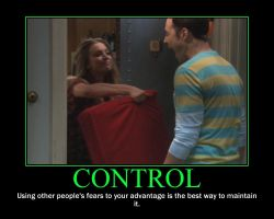 Control Motivational Poster by QuantumInnovator