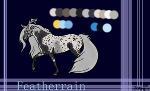 Featherrain *Ref Sheet 2016* by Schlangenfrost