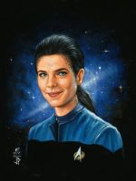 Woman of Star Trek  Jadzia Dax by Melanarus