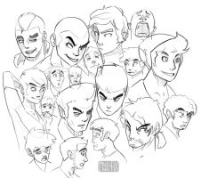 Imaginary Faces by RhythmAx