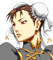 Chun-Li Udon Select Palette by CaliburWarrior